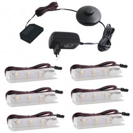 KLIPS LED PVC, ZESTAW 5 PKT.