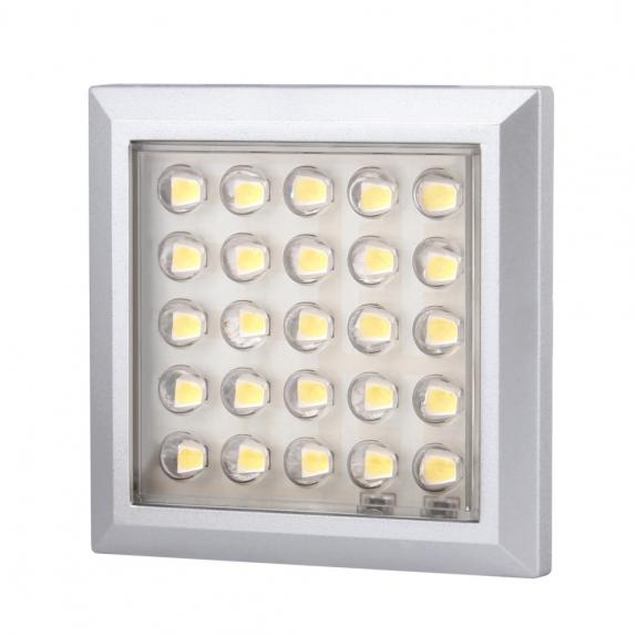 SQUARE XL 2W, OPRAWA PODSZAFKOWA LED