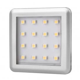 SQUARE 1,5W, OPRAWA PODSZAFKOWA LED