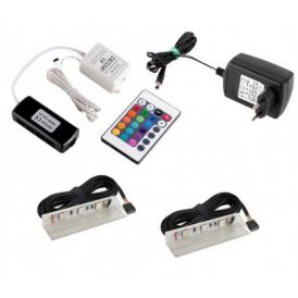 KLIPS LED PVC RGB, ZESTAW 2PKT