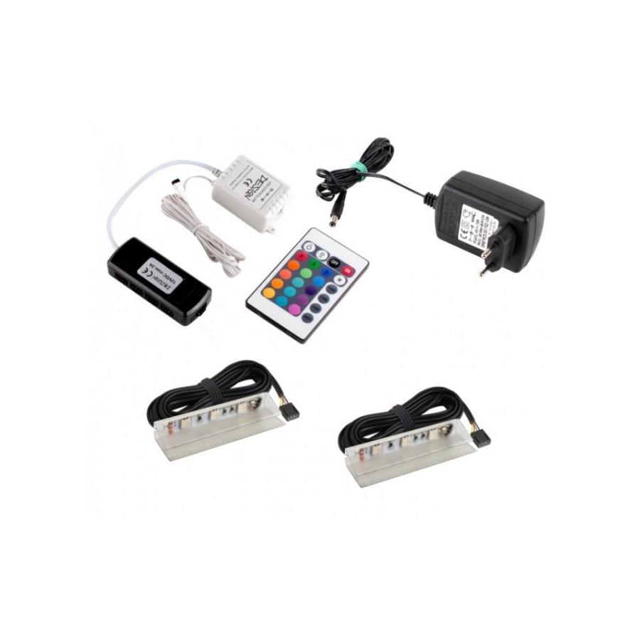 KLIPS LED PVC RGB, ZESTAW 2PKT- gotowy zestaw Rgb