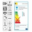 KLIPS LED PVC RGB, ZESTAW 4PKT-Etykieta energetyczna