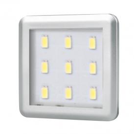 SQUARE 2,5W, OPRAWA PODSZAFKOWA LED