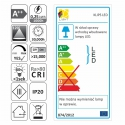 KLIPS LED PVC, ZESTAW 2 PKT. Karta energetyczna