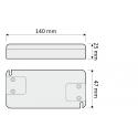 ZASILACZ LED 24W STANDARD PLUS- rysunek techniczny