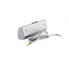 CORNER BOX 1 - Przedłużacz Narożny  Aluminium  230V
