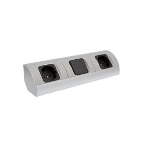 CORNER BOX 3 - Gniazdo meblowe 230V