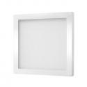 Biała, kwadratowa, oprawa LED - Foton. 3W, 12V DC. Oprawa podszafkowa LED.