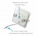 OPRAWA SUFITOWA LED STELLA 18W-oprawa z zasilaczem