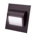 Oprawa schodowa czarna STEP LED