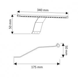 OPRAWA LED CAPRI- wysięgnik LED