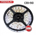 TAŚMA PREMIUM 300 LED typ 2835 - IP45, 30W-CRI 90