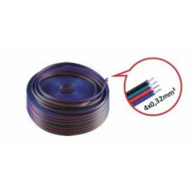 Przewód do RGB 4x0,32mm2 -100mb