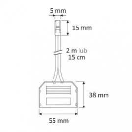 Rozdzielacz  6-PKT z wtyczką mini