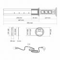 LIFT BOX USB automatyczny przedłużacz