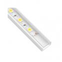 Profil nawierzchniowy  aluminium LINE MINI 1m klosz przezroczysty