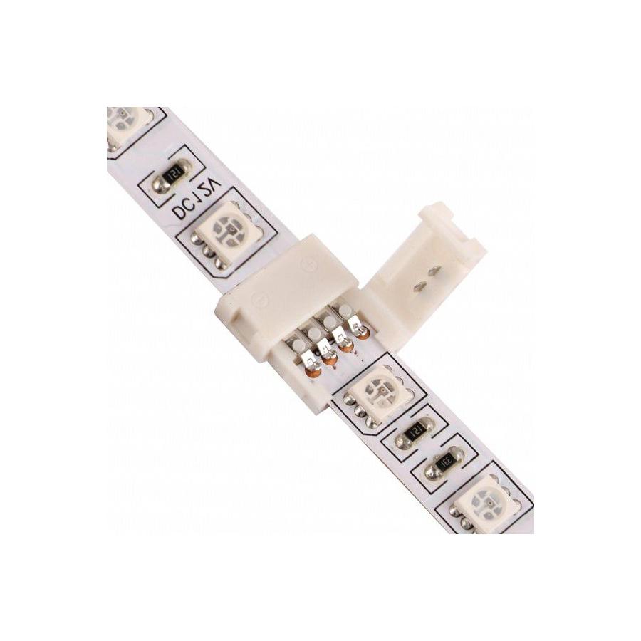 ZŁĄCZKA  DO ŁĄCZENIA 2 TAŚM LED RGB 10mm