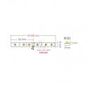 Taśma PREMIUM 300 LED diody 2835 SAMSUNG IP20 41W