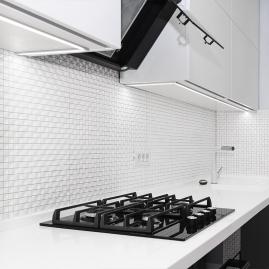 Profil nawierzchniowy aluminiowy do taśm LED, LINE XL 2m klosz mleczny