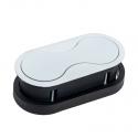 EIGHTBOX USB gniazdo meblowe białe