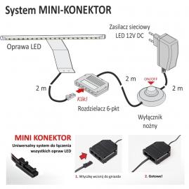OPRAWA LED CAPRI-OPRAWA WYSIĘGNIKOWA-montaż