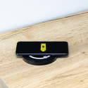 LIFT BOX USB automatyczny przedłużacz czarny z ładowarką indukcyjną