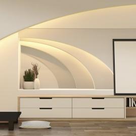 TAŚMA PREMIUM 60 LED/m typ 2835 - IP20, 30W aranżacja pokoju podświetlenie wnęk
