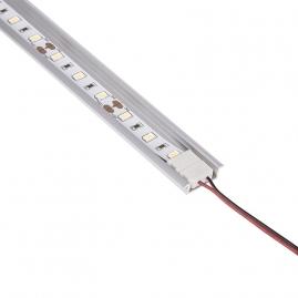 Profil aluminiowy INLINE Z 2 m z taśmą LED i złączką do LED