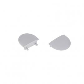 Profil aluminiowy INLINE Z 2 m zaślepki boczne