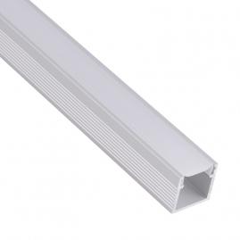 Profil Aluminium LINE 2m klosz mleczny - profile aluminiowe aranżacje, pomysły, inspiracje