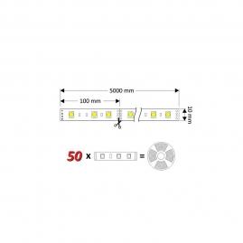 ZESTAW TAŚMA RGB 60 LED/m, IP20+STEROWNIK, PILOT I ZASILACZ
