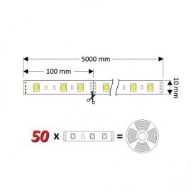 ZESTAW TAŚMA RGB 150 LED IP45- tasma 10mm