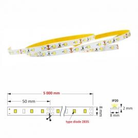 rysunek techniczny TAŚMA PREMIUM  300 LED IP20, 30 W Made in Poland