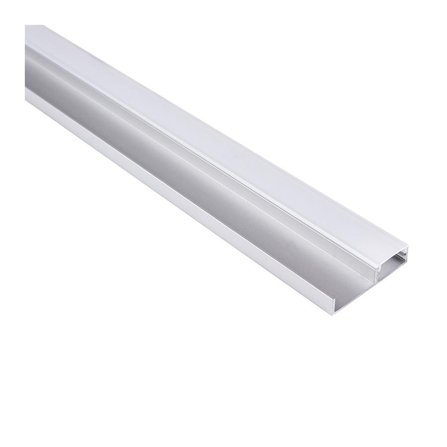 Floor line - profil led na cokół dolny mebli. Oświetlenie podłogi w kuchni.