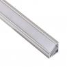 Profil nawierzchniowy aluminium TRI-LINE MINI 2m klosz mleczny  Profil do taśmy LED