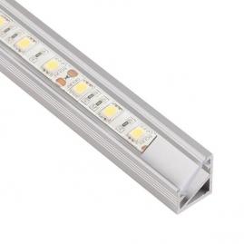 Profil nawierzchniowy  aluminium  TRI-LINE MINI 1m klosz transparentny