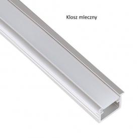 Profil aluminiowy INSIDE LINE 2m klosz mleczny