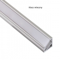 Profil nawierzchniowy aluminium TRI-LINE MINI 2m klosz mleczny