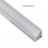 Profil nawierzchniowy  aluminium  TRI-LINE MINI 1m klosz mleczny
