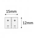 PRZEWÓD  DO TAŚM LED O SZEROKOŚCI 8 mm