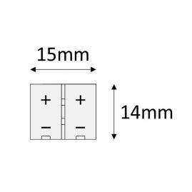 PRZEWÓD DO TAŚM LED O SZEROKOŚCI 10 mm