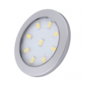 ORBIT XL 3W, podszafkowa oprawa LED - kolor aluminium