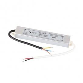 ZASILACZ WODOODPORNY LED 18W, 12VDC, IP67- zasilacz płaski , małe wymiart