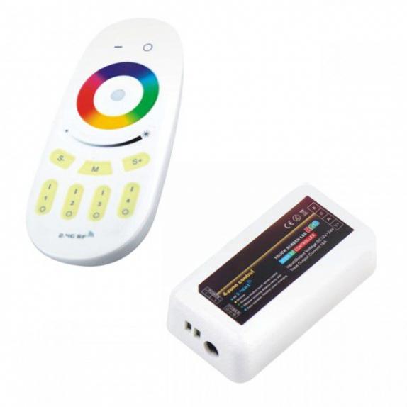 STEROWNIK LED RGB Z 4-STREFOWYM PILOTEM RF
