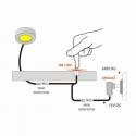 WYŁĄCZNIK/ ŚCIEMNIACZ DOTYKOWY DO LED sposób montażu