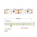 TAŚMA PREMIUM 600 LED typ 2835 - IP20, 60W-mocne diody
