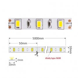 TAŚMA PREMIUM 300 LED typ 5630 - IP20, 80W TAŚMA BEZ ŻELU