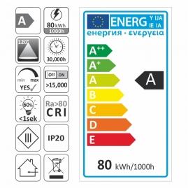 TAŚMA PREMIUM 300 LED typ 5630 - IP20, 80W- ETYKIETA ENERGETYCZNA