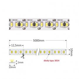 TAŚMA PREMIUM 1200 LED typ 3014 - IP20, 90W  -nowoczesne diody Led