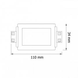 ŚCIEMNIACZ RF DO LED rysunek techniczny